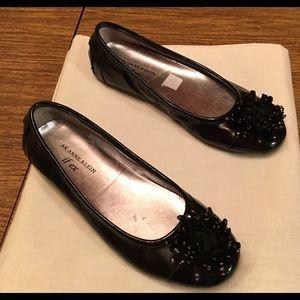 Anne Klein Sz 6 Medium iFlex Black Ballet Shoes